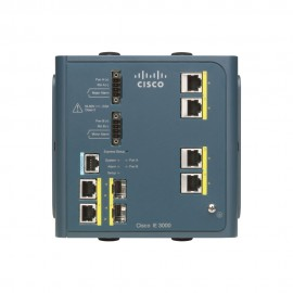 Cisco Industrial Ethernet 3000 Series 4 ports, IE-3000-4TC-E by CISCO
