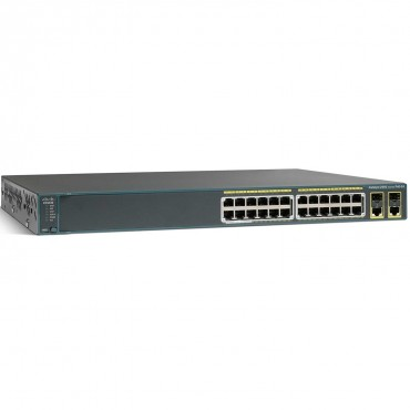 Cisco Catalyst 2960-24 10/,100 switch., WS-C2960-24PC-S by CISCO