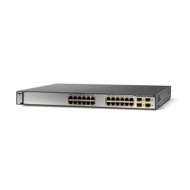 Cisco Catalyst WS-C3750X-24S-S Stackable 24 GE SFP Switch, WS-C3750X-24S-S by CISCO