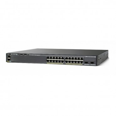 Cisco Catalyst 2960-XR Stackable,24ports switch., WS-C2960XR-24PS-I by CISCO