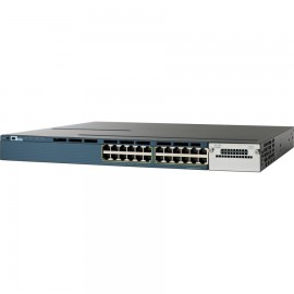 Cisco 3560-X standalone 24,10/100/1000 Ethernet switch., WS-C3560X-24T-E by CISCO