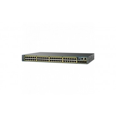 Cisco Catalyst 2960-SF 48,EthernetPoE+ switch., WS-C2960S-F48LPS-L by CISCO
