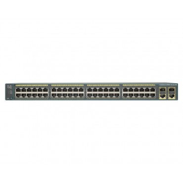 48 10/100B SE-TX PoE,ports,ports, switch., WS-C2960+48PST-S by CISCO