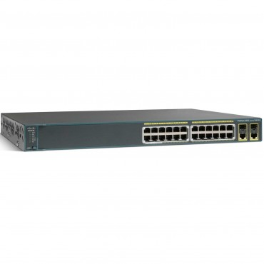 Cisco Catalyst 2960-X Stackable,24ports switch., WS-C2960X-24TD-L by CISCO