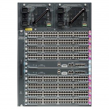 Cisco Catalyst 4500 E-Series,10-SlotChassis, switch., WS-C4510R+E by CISCO