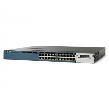 Cisco 3560-X standalone 24,10/100/1000 PoE+ Ethernet switch., WS-C3560X-24P-S by CISCO