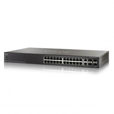 Cisco Catalyst 2960-X Stackable,24ports switch., WS-C2960X-24PS-L by CISCO