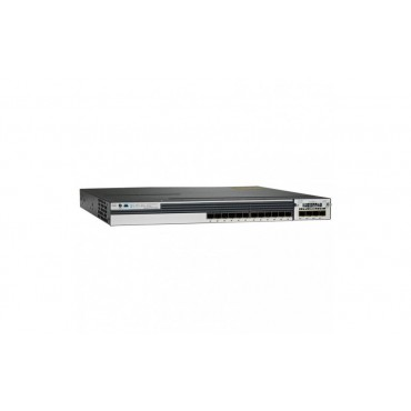 Cisco Catalyst WS-C3750X-12S-S Stackable 12 GE SFP Switch, WS-C3750X-12S-S by CISCO