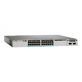 Cisco Catalyst 3850 Stackable 24 100M/1G/2.5G/5G/10G UPoE,ports,module switch., WS-C3850-24XU-S by CISCO