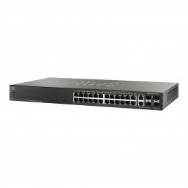 Cisco Small Buss 500 Series SF500-24P-K9 stackable managed switch   24 ports, SF500-24P-K9-G5 by CISCO