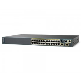 Cisco Catalyst 2960-S 24,Ethernet1000 switch., WS-C2960S-24TD-L by CISCO