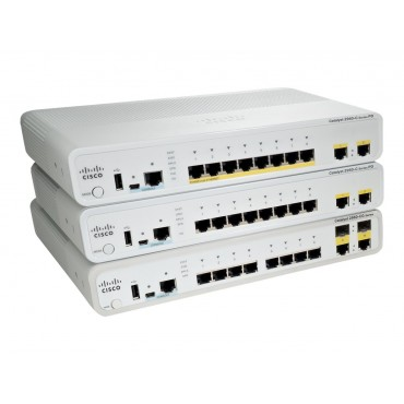 Cisco Catalyst 2960-C PD,PSEFE switch., WS-C2960CPD-8PT-L by CISCO