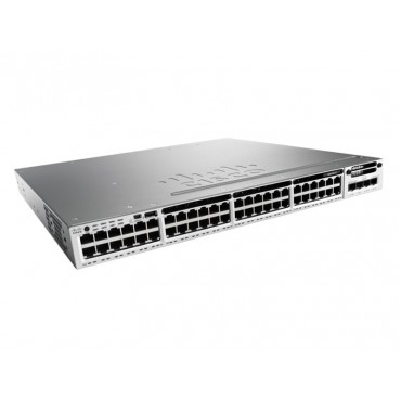 Cisco Catalyst 3850 12 SFP module slots,,1slot, switch., WS-C3850-12S-S by CISCO