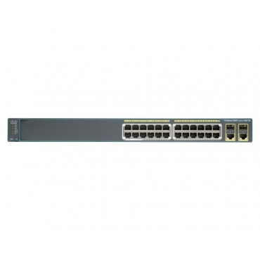 Cisco Catalyst 2960-24 10/100 switch., WS-C2960-24PC-L by CISCO