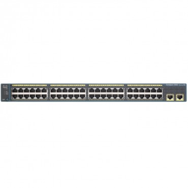 Cisco Catalyst 2960-X Stackable,48ports switch., WS-C2960X-48TS-L by CISCO