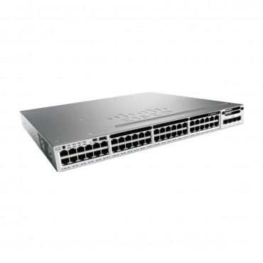 Standalone Cisco Catalyst 3850,SwitchSFP+ switch., WS-C3850-48XS-F-E by CISCO