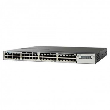 Cisco Catalyst 3850 Stackable,48PoE+ switch., WS-C3850-48F-E by CISCO