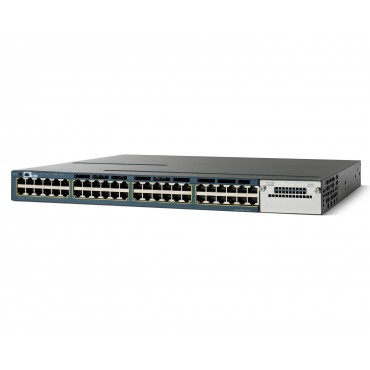 Cisco 3560-X standalone 48,10/100/1000 Ethernet switch., WS-C3560X-48T-S by CISCO