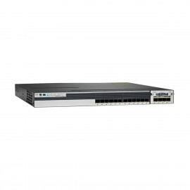 Cisco Catalyst WS-C3750X-12S-E Stackable 12 GE SFP Switch, WS-C3750X-12S-E by CISCO