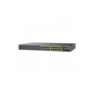 Cisco Catalyst 2960-X 24,10/100/1000and switch., WS-C2960X-24TS-LL by CISCO