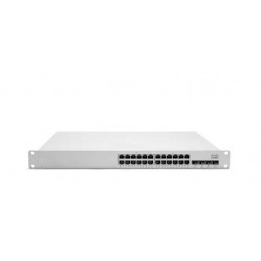 Cisco Meraki Cloud Managed MS350-24P-HW switch L3 24 Port, MS350-24P-HW by CISCO