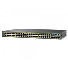 Cisco Catalyst 2960-X 48,10/100/1000and switch., WS-C2960X-48TS-LL by CISCO