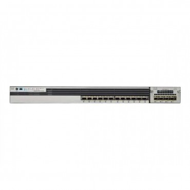 Cisco Catalyst 3850 12-port SFP+,transceiver,module switch., WS-C3850-12XS-S by CISCO