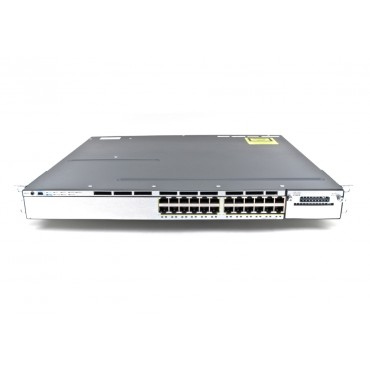 Cisco Catalyst WS-C3750X-24P-S stackable 24 Switch, WS-C3750X-24P-S by CISCO