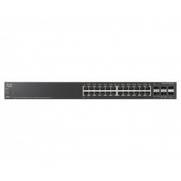 Cisco Small Buss 500 Series SG500X-24P-K9 stackable managed switch   24 ports, SG500X-24P-K9-G5 by CISCO