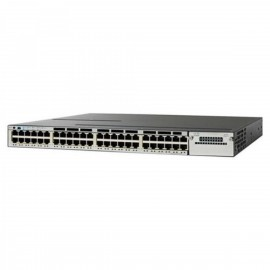 Cisco Catalyst 3850 Stackable,48PoE+ switch., WS-C3850-48P-L by CISCO