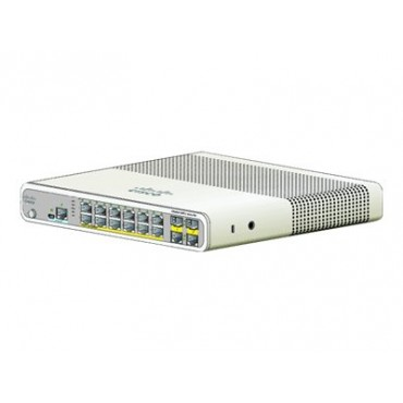 Cisco Catalyst 2960-C PoE,SwitchPoE, switch., WS-C2960C-12PC-L by CISCO