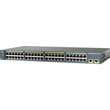 Cisco Catalyst 2960-48 10/,100 switch., WS-C2960-48TT-S by CISCO